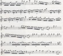 Voy hablar con tu Papa, a solo by Richard Egües transcribed from a recording by Sue Miller. (Note all transcriptions are written an octave lower and need to be played an octave up.)