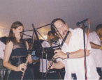 Eddie Zervigon with Sue Miller