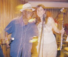 Melquides Fundora with Sue Miller