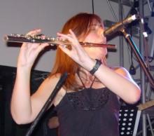Sue and Yudnara flute and guiro